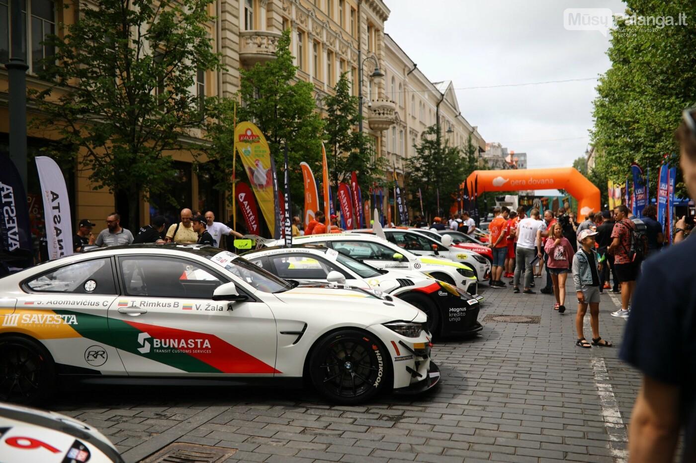 """""""Aurum 1006 km lenktynių"""" įžanga – sostinės Gedimino prospekte, nuotrauka-5"""