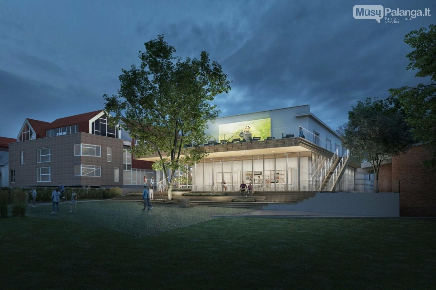 Valdiškų tarnybų išbrokuotą legendinio kino teatro projektą architektai Palangai tiesiog padovanojo , nuotrauka-2