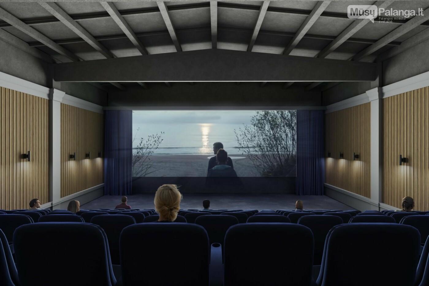 Valdiškų tarnybų išbrokuotą legendinio kino teatro projektą architektai Palangai tiesiog padovanojo , nuotrauka-4