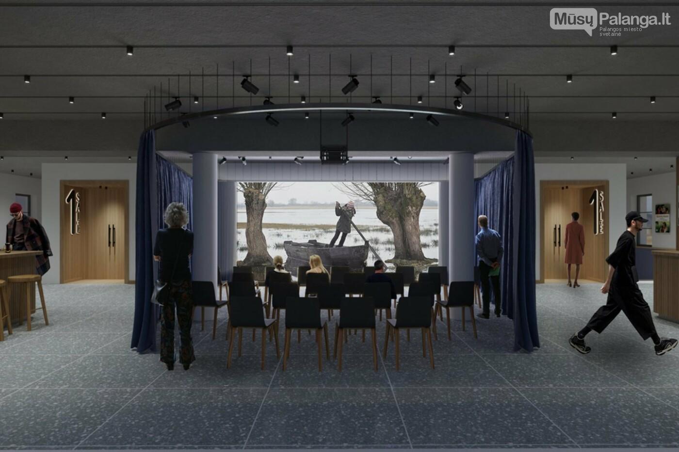 Valdiškų tarnybų išbrokuotą legendinio kino teatro projektą architektai Palangai tiesiog padovanojo , nuotrauka-5