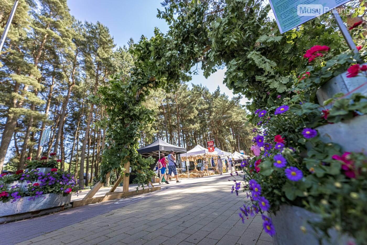 Joninių miestelis šventojoje užbūrė šventės dalyvius, nuotrauka-1