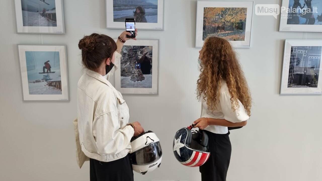 """Palangos senosios gimnazijos bendruomenės fotografijų parodos """"Mano miestas"""" atidarymas, nuotrauka-7"""