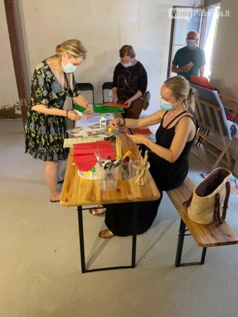 Poilsiautojai ir vietos gyventojai Palangoje kviečiami pasinerti į kūrybos magiją ir sukurti ypatingą koliažą, nuotrauka-2