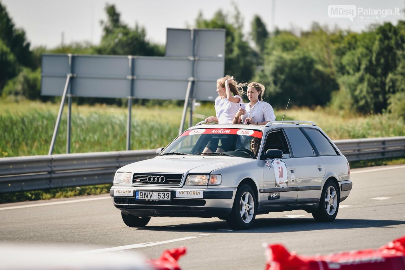 Žiūrovus žavėjo kilometrinė moterų iššūkio dalyvių kolona, nuotrauka-3, Vytauto PILKAUSKO ir Arno STRUMILOS nuotraukos