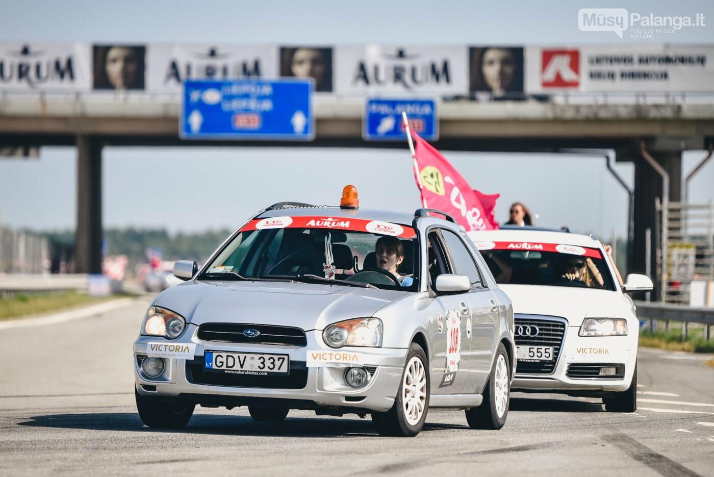 Žiūrovus žavėjo kilometrinė moterų iššūkio dalyvių kolona, nuotrauka-4, Vytauto PILKAUSKO ir Arno STRUMILOS nuotraukos