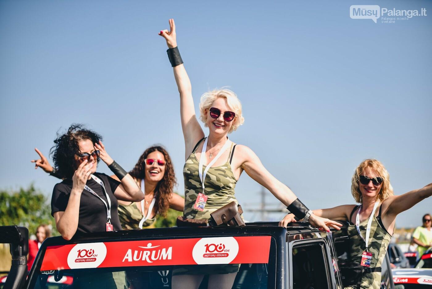 Žiūrovus žavėjo kilometrinė moterų iššūkio dalyvių kolona, nuotrauka-6, Vytauto PILKAUSKO ir Arno STRUMILOS nuotraukos