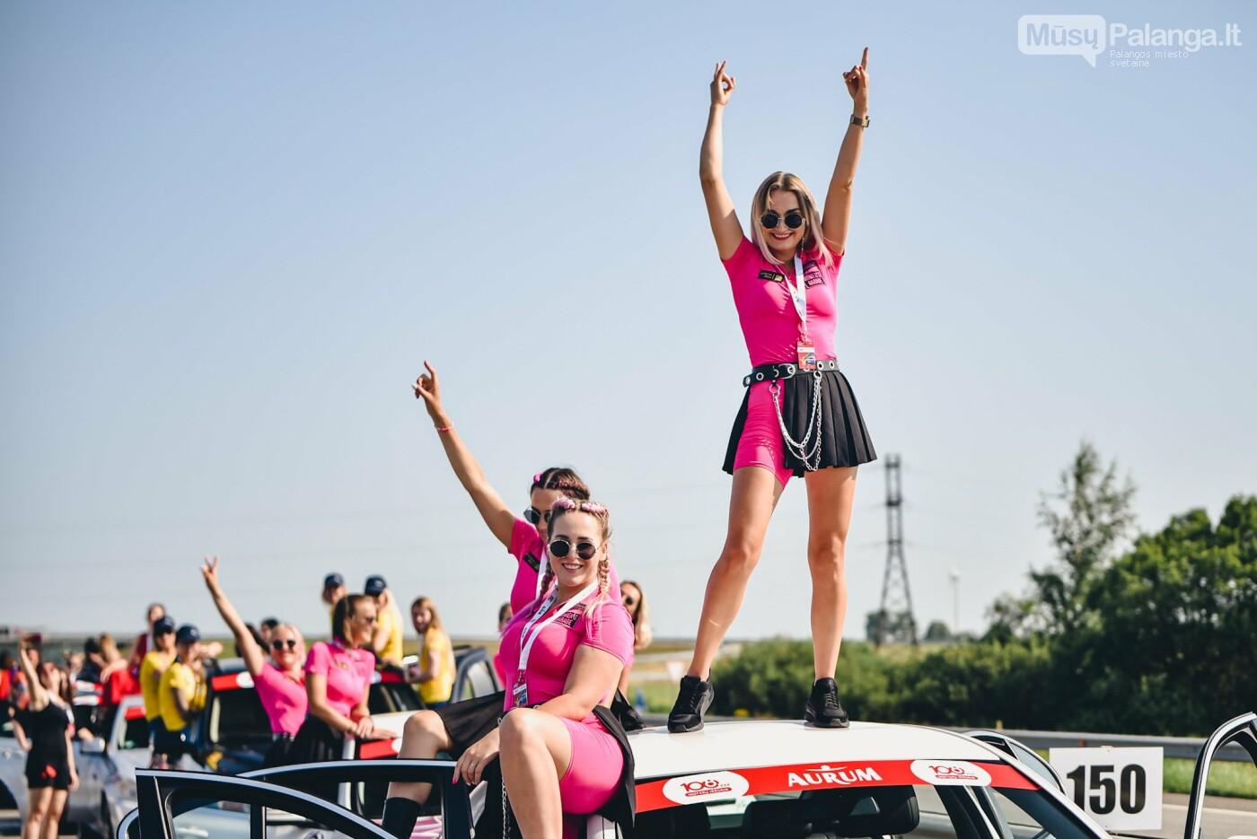 Žiūrovus žavėjo kilometrinė moterų iššūkio dalyvių kolona, nuotrauka-7, Vytauto PILKAUSKO ir Arno STRUMILOS nuotraukos