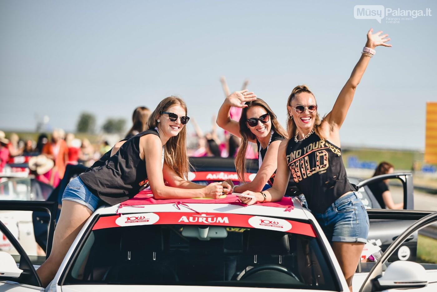 Žiūrovus žavėjo kilometrinė moterų iššūkio dalyvių kolona, nuotrauka-9, Vytauto PILKAUSKO ir Arno STRUMILOS nuotraukos
