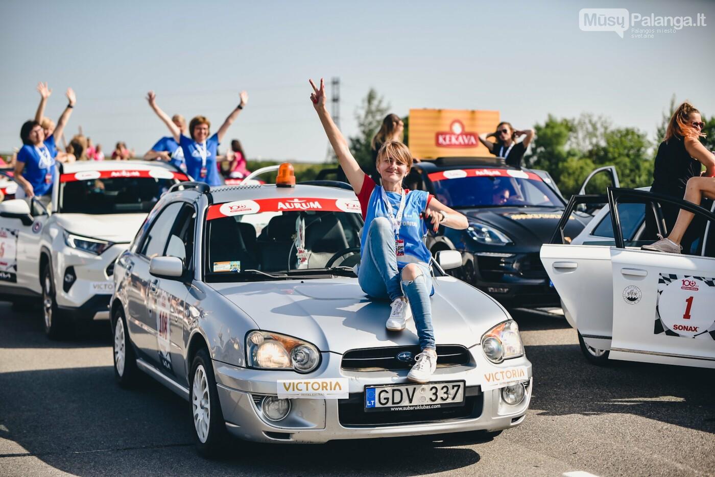 Žiūrovus žavėjo kilometrinė moterų iššūkio dalyvių kolona, nuotrauka-10, Vytauto PILKAUSKO ir Arno STRUMILOS nuotraukos
