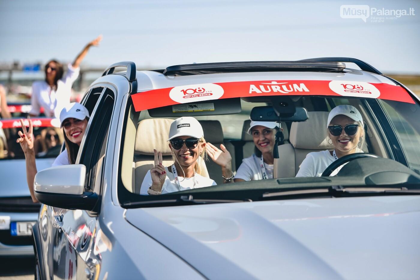 Žiūrovus žavėjo kilometrinė moterų iššūkio dalyvių kolona, nuotrauka-15, Vytauto PILKAUSKO ir Arno STRUMILOS nuotraukos