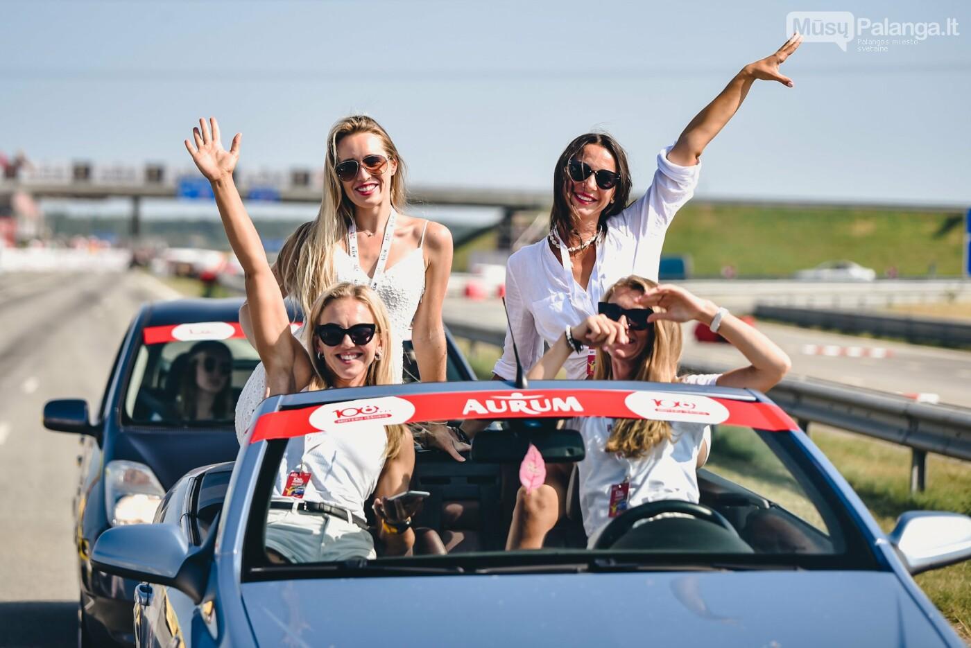 Žiūrovus žavėjo kilometrinė moterų iššūkio dalyvių kolona, nuotrauka-16, Vytauto PILKAUSKO ir Arno STRUMILOS nuotraukos