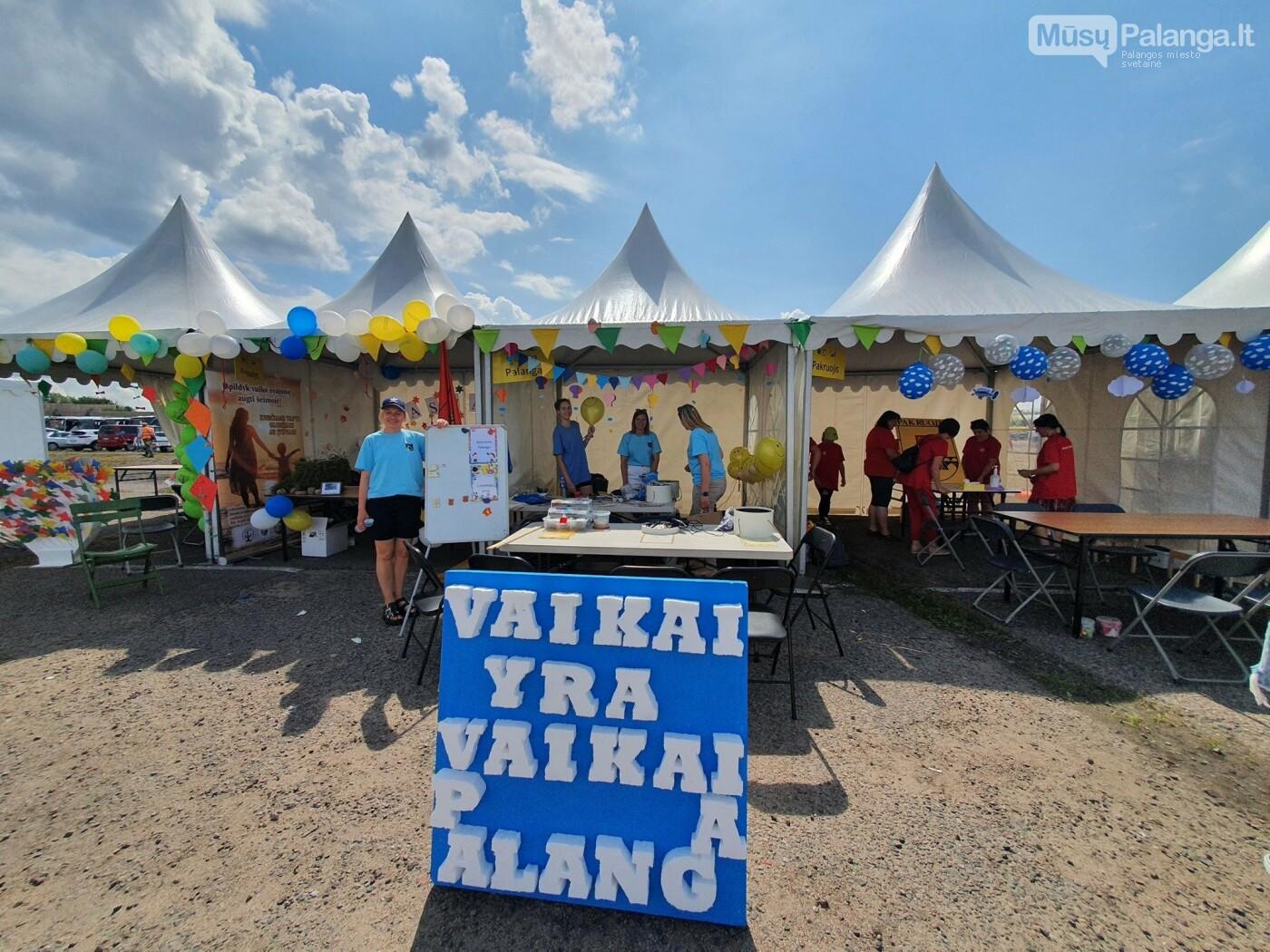 """Palangos miesto socialinių paslaugų centras Kaune vykusiame vasaros festivalyje """"Vaikai yra vaikai"""" gavo """"Palanga magnetiškiausia"""" no..., nuotrauka-12"""