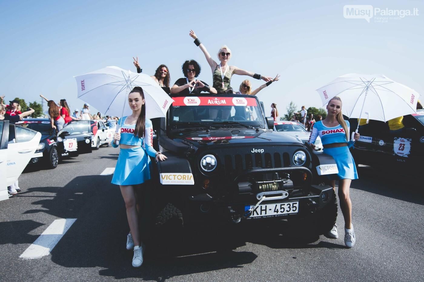 Žiūrovus žavėjo kilometrinė moterų iššūkio dalyvių kolona, nuotrauka-21, Vytauto PILKAUSKO ir Arno STRUMILOS nuotraukos