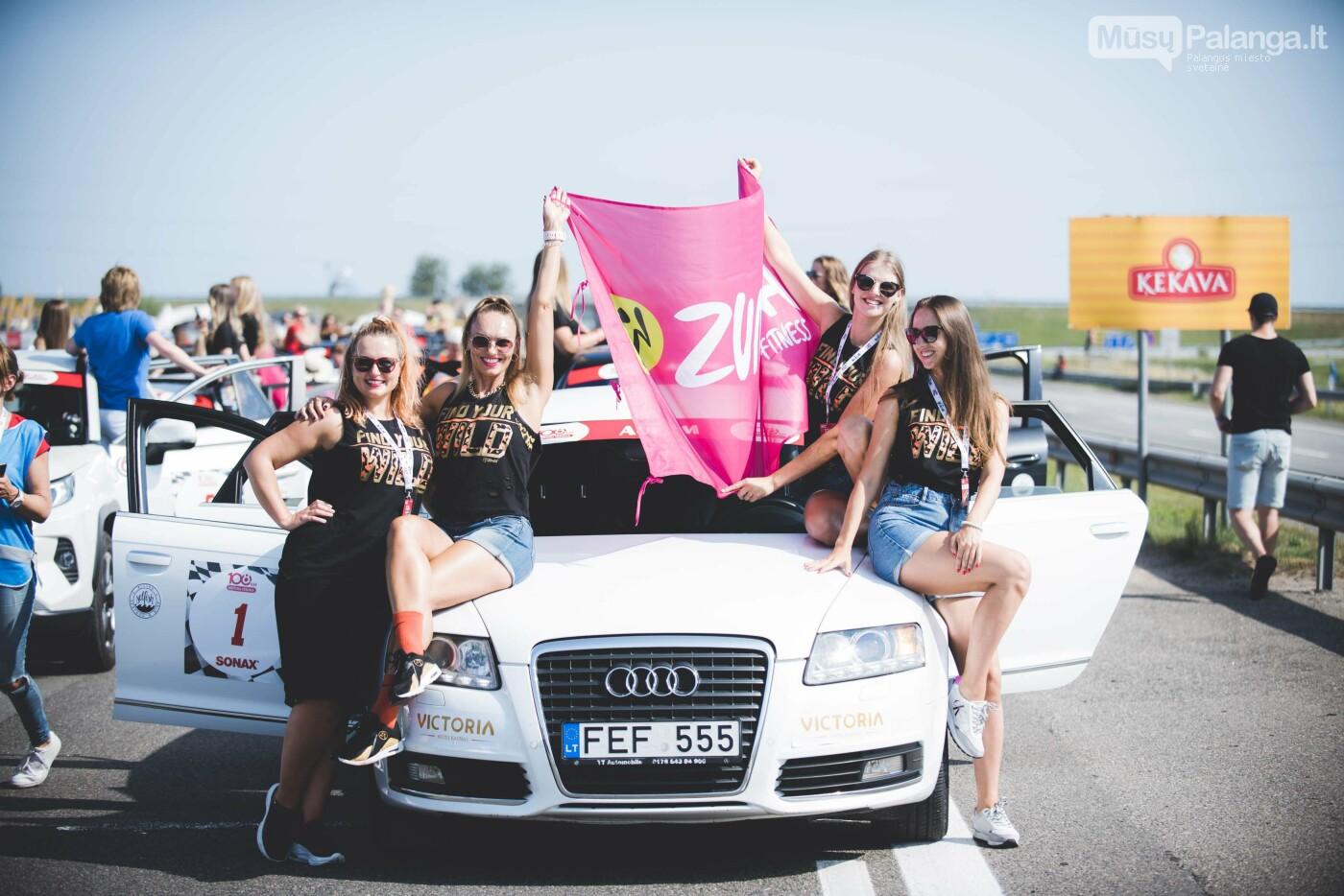 Žiūrovus žavėjo kilometrinė moterų iššūkio dalyvių kolona, nuotrauka-25, Vytauto PILKAUSKO ir Arno STRUMILOS nuotraukos