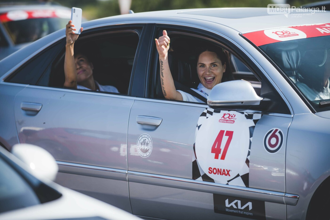 Žiūrovus žavėjo kilometrinė moterų iššūkio dalyvių kolona, nuotrauka-26, Vytauto PILKAUSKO ir Arno STRUMILOS nuotraukos