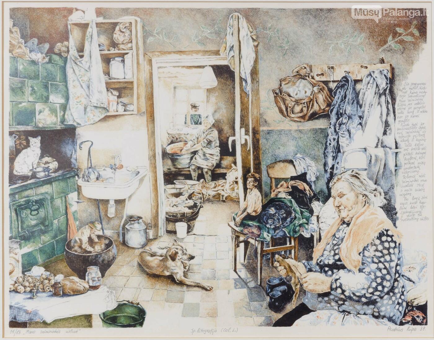 Audrius Puipa-Mano šeimininkės virtuvėlė (1989)