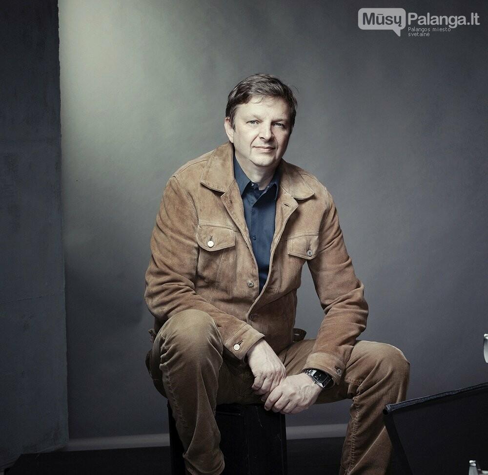 Scenografas Marko Japelj. Asm. albumo nuotr.