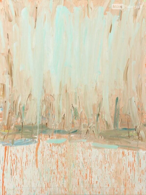Antano Mončio namuose-muziejuje – tapytojos Kristinos Mažeikaitės paroda  apie melancholijoje telpančią neviltį ir tikėjimą, nuotrauka-1