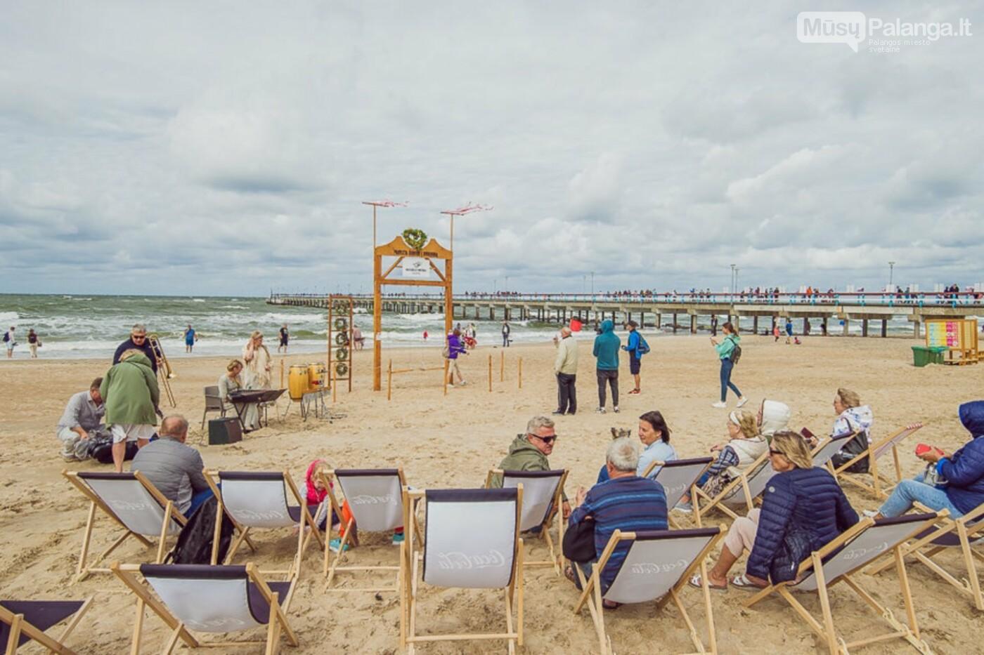 Palangoje – įspūdingos sūpynės ant jūros kranto, nuotrauka-7