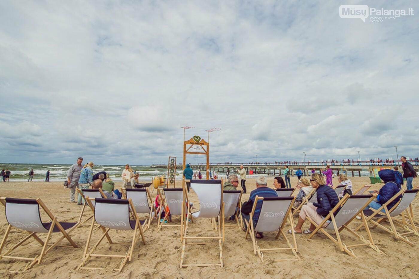 Palangoje – įspūdingos sūpynės ant jūros kranto, nuotrauka-13
