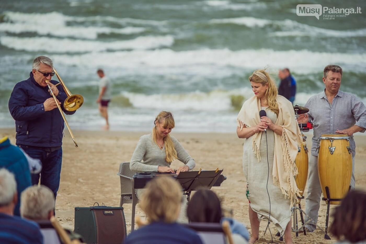 Palangoje – įspūdingos sūpynės ant jūros kranto, nuotrauka-23