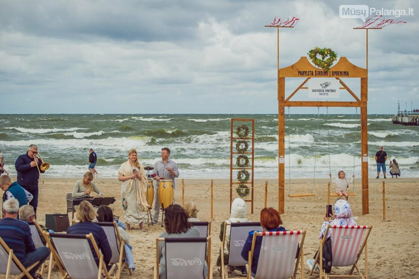 Palangoje – įspūdingos sūpynės ant jūros kranto, nuotrauka-22