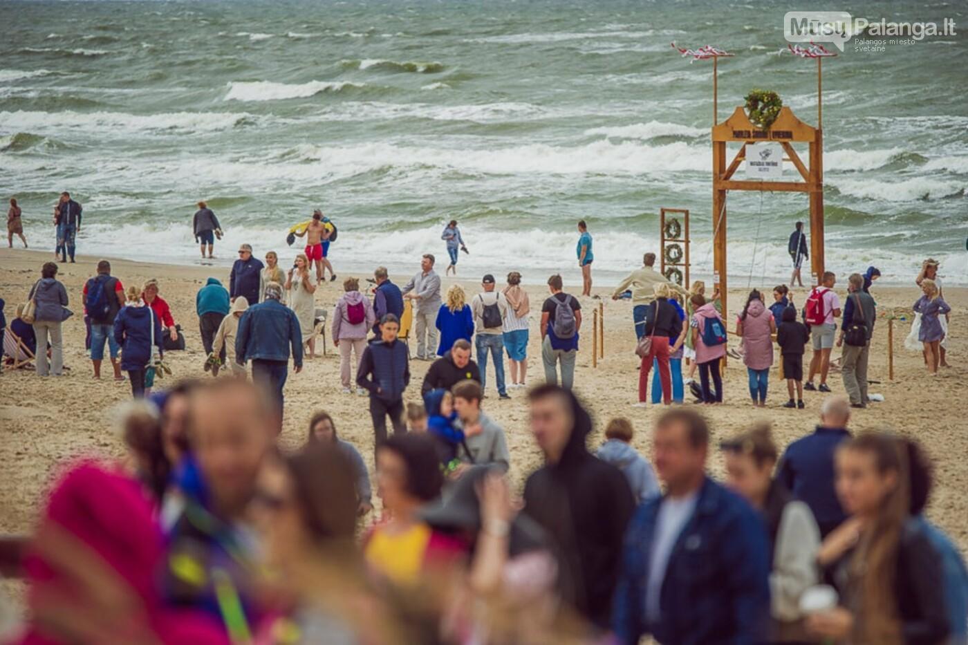 Palangoje – įspūdingos sūpynės ant jūros kranto, nuotrauka-35