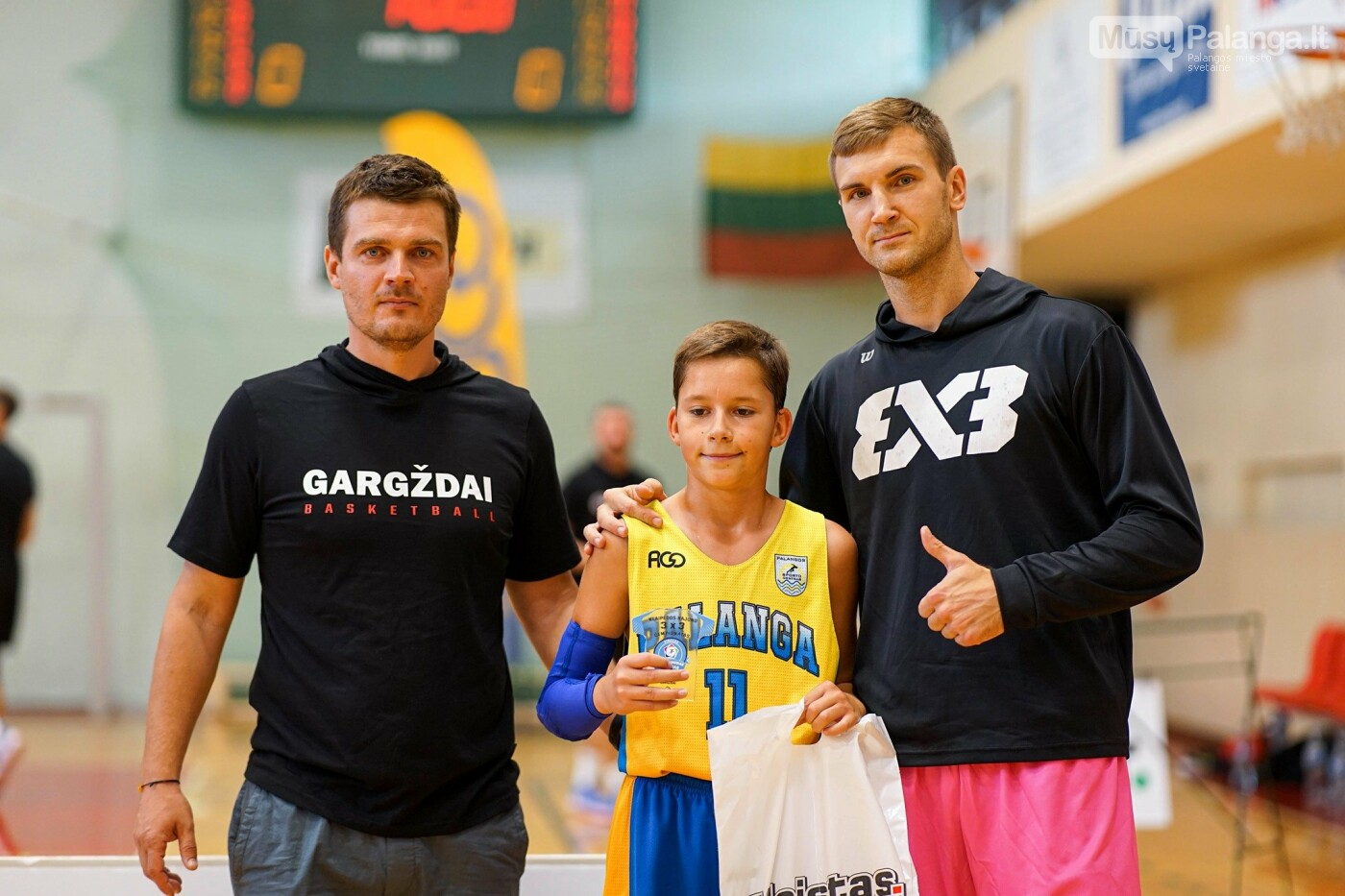 Klaipėdos rajono 3x3 čempionato U11 amžiaus grupės nugalėtojai Kuršiai Jr., nuotrauka-3