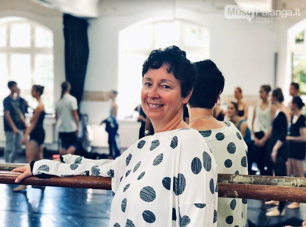 Klasikinio baleto mokyklos įkūrėja, savininkė bei meno vadovė Elizabeth Shipiatsky iš Denverio (JAV) . J.Lebedevos nuotr.