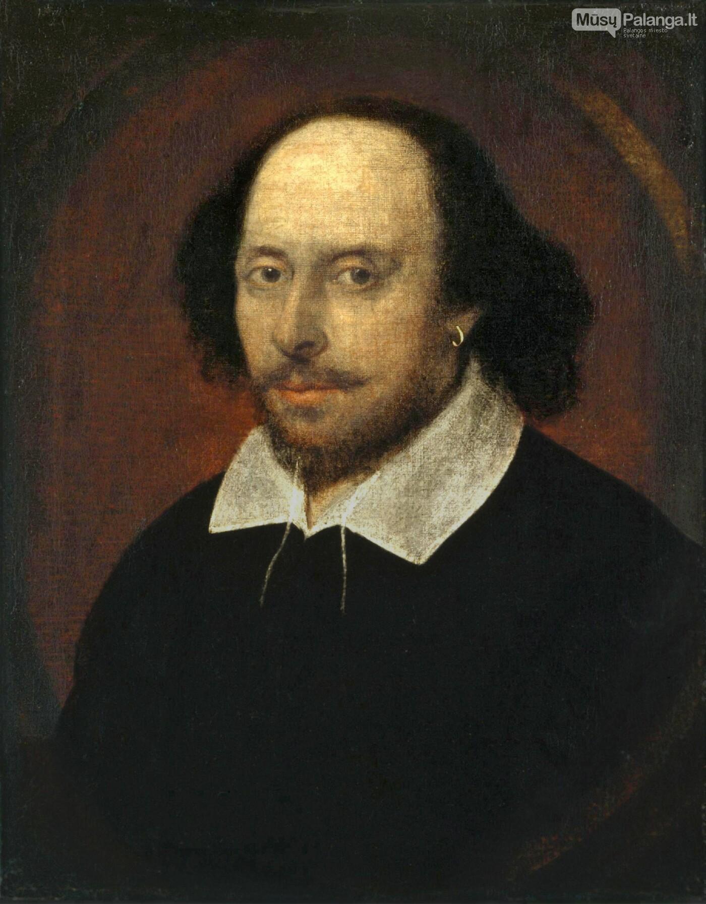 W. Shakespeare. Vikipedijos nuotr.