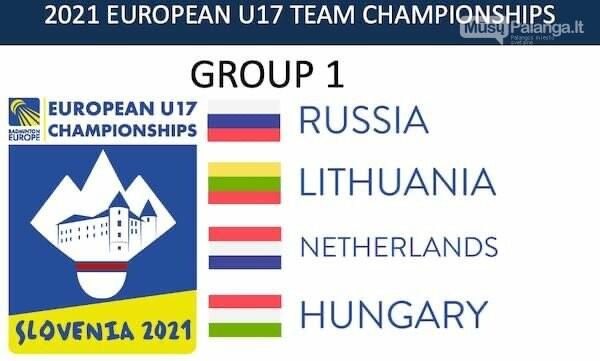 Rugsėjo 1-ąją į Europos U17 čempionatą Slovėnijoje, nuotrauka-2