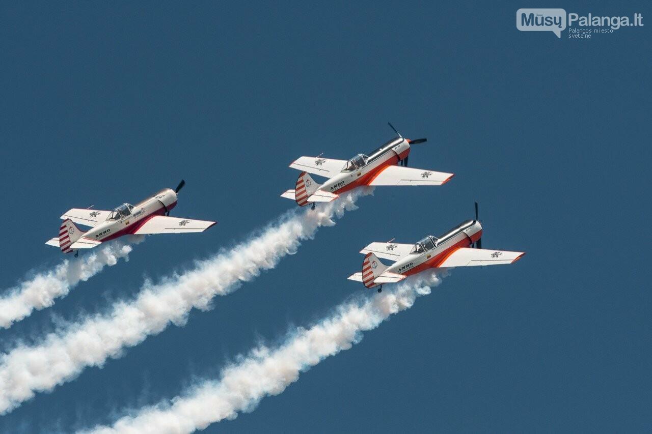 Lietuvos akrobatinių skrydžių grupė ANBO Palangoje surengs pasirodymą, nuotrauka-1