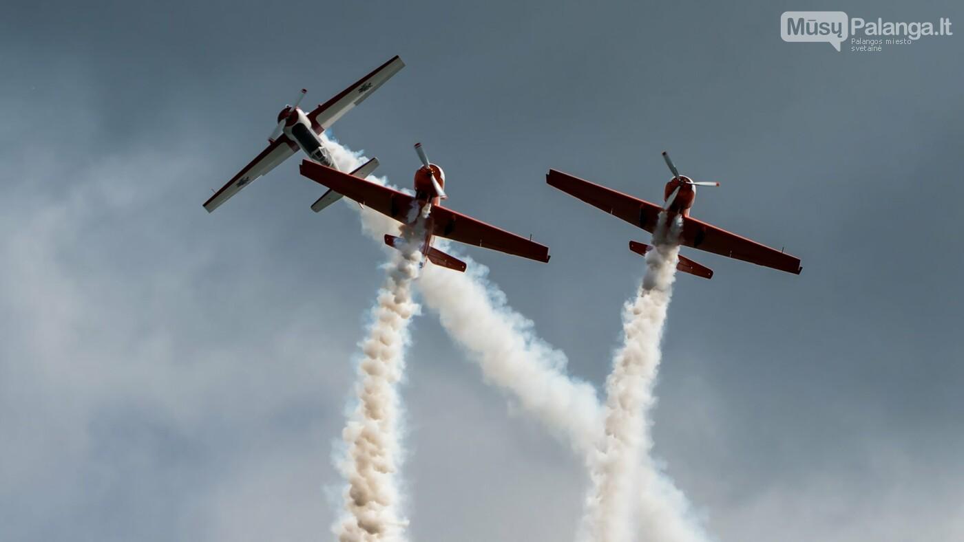 Lietuvos akrobatinių skrydžių grupė ANBO Palangoje surengs pasirodymą, nuotrauka-2