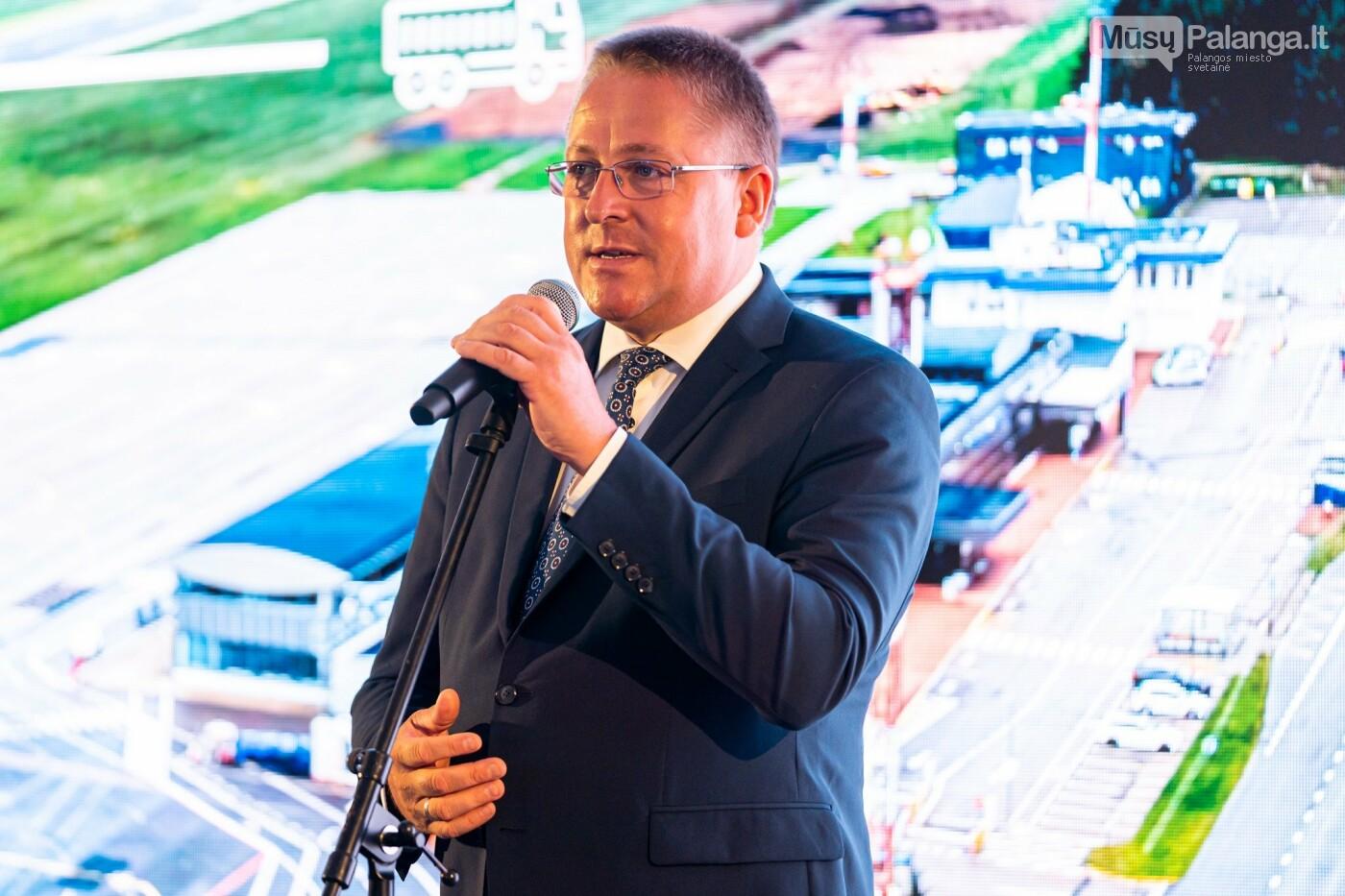 Susisiekimo ministras M. Skuodis paskelbė oficialią Palangos oro uosto rekonstrukcijos pradžią, nuotrauka-6
