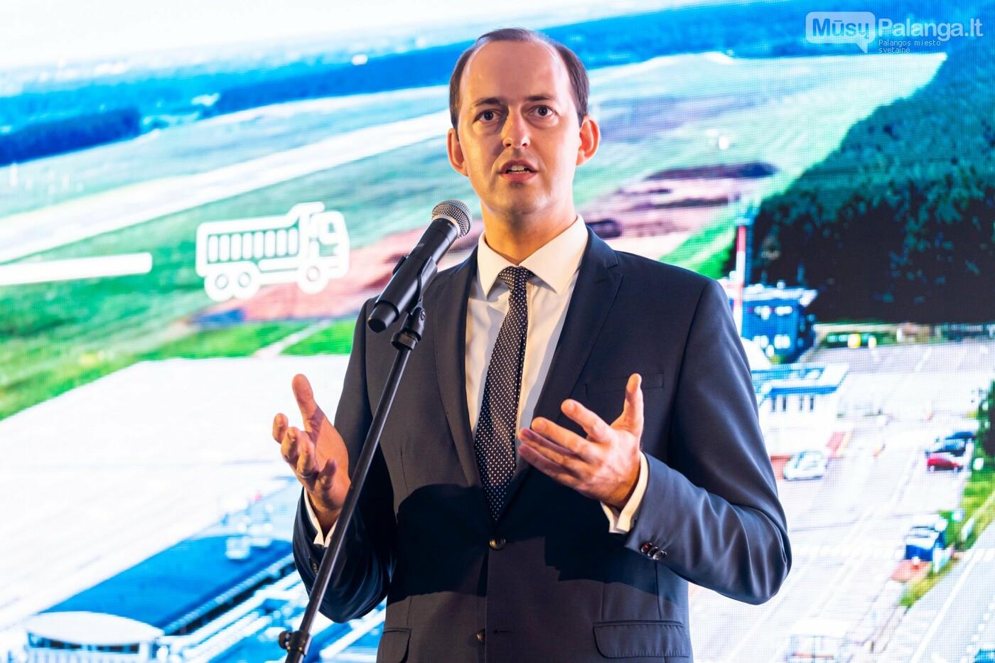 Susisiekimo ministras M. Skuodis paskelbė oficialią Palangos oro uosto rekonstrukcijos pradžią, nuotrauka-2