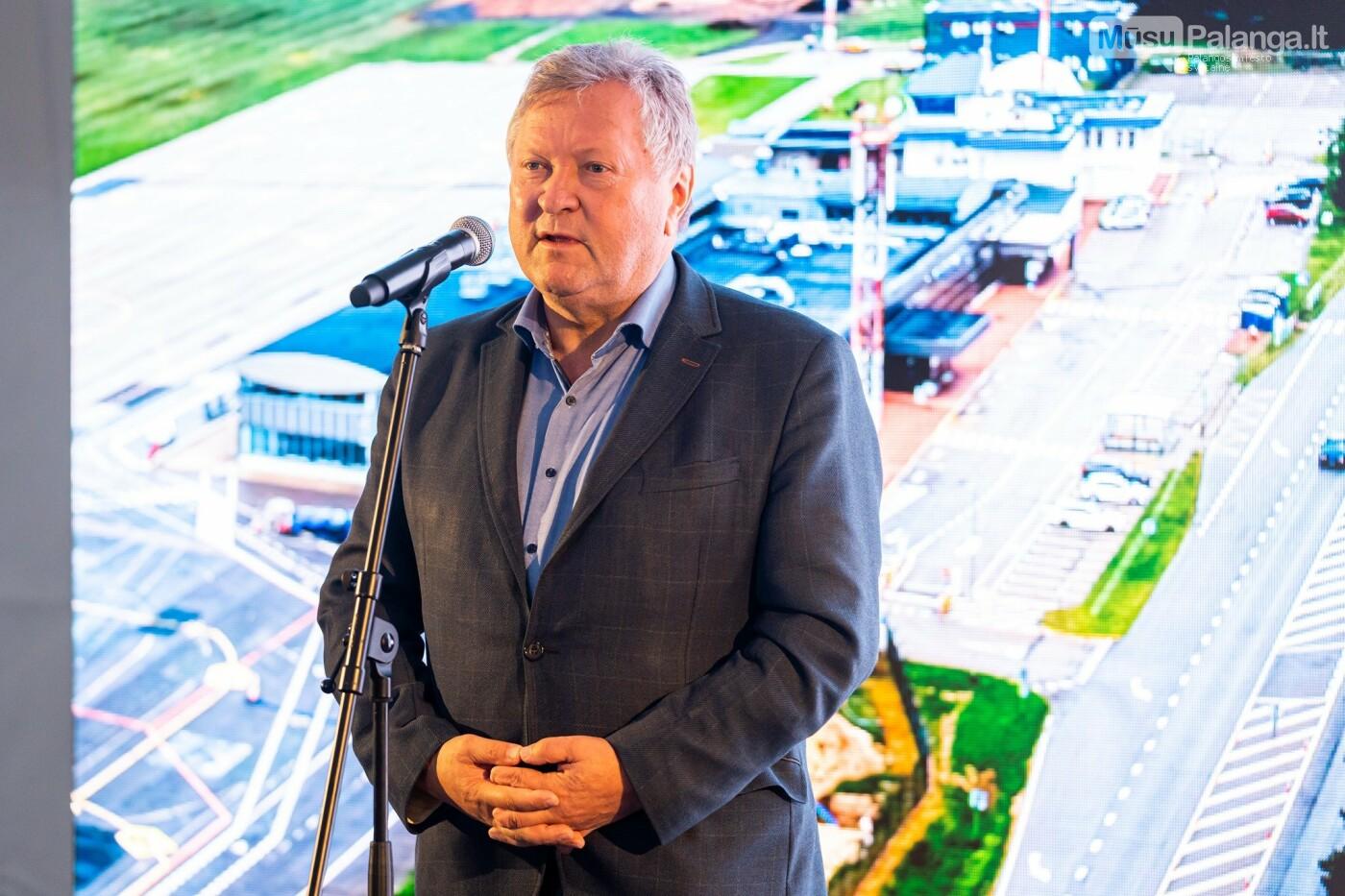 Susisiekimo ministras M. Skuodis paskelbė oficialią Palangos oro uosto rekonstrukcijos pradžią, nuotrauka-5