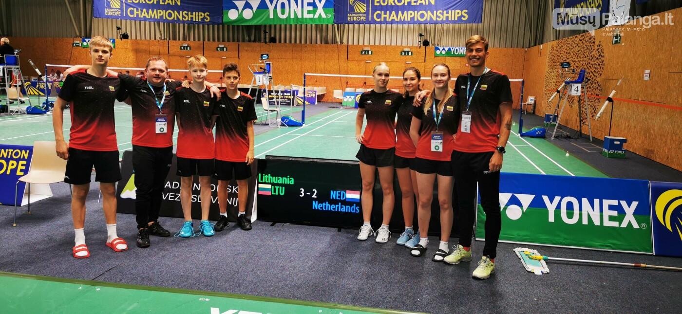 Puikus Lietuvos U17 badmintono rinktinės pasirodymas Europos čempionate, nuotrauka-1