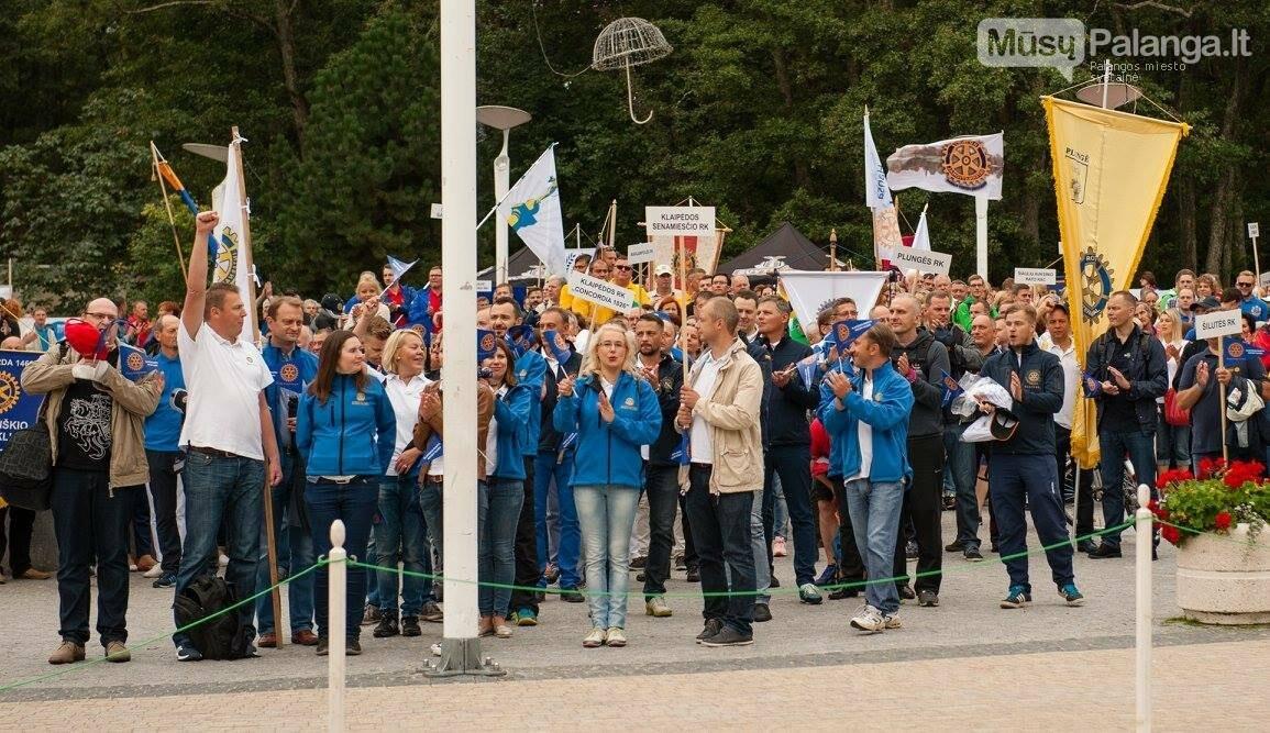 Palangoje – jubiliejinės Rotary sporto žaidynės, nuotrauka-1