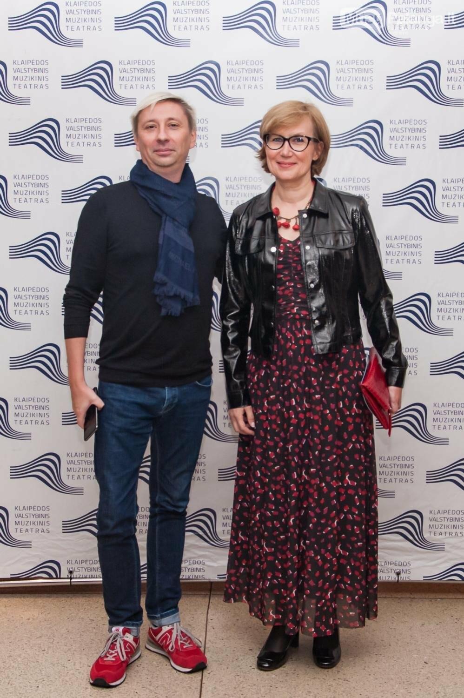 Kirilas Simonovas ir Laima Vilimienė, Olesios Kasabovos nuotr.