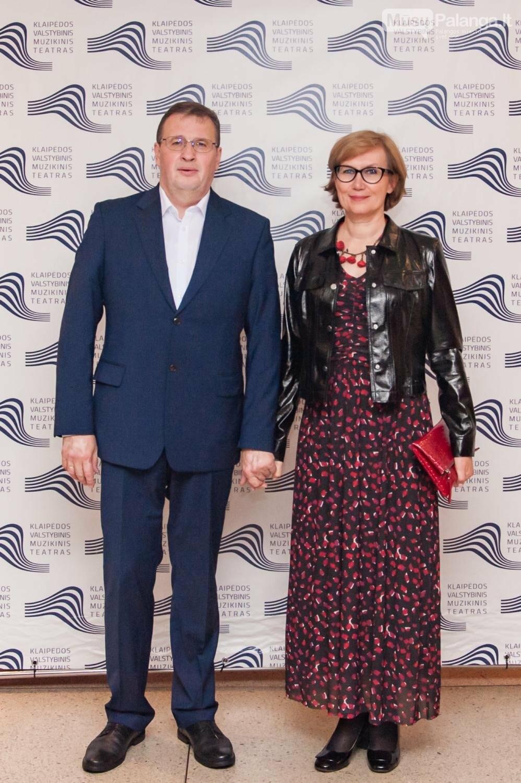 KVMT vadovė L.Vilimienė ir jos vyras Jonas Vilimas., O.Kasabovos nuotr.