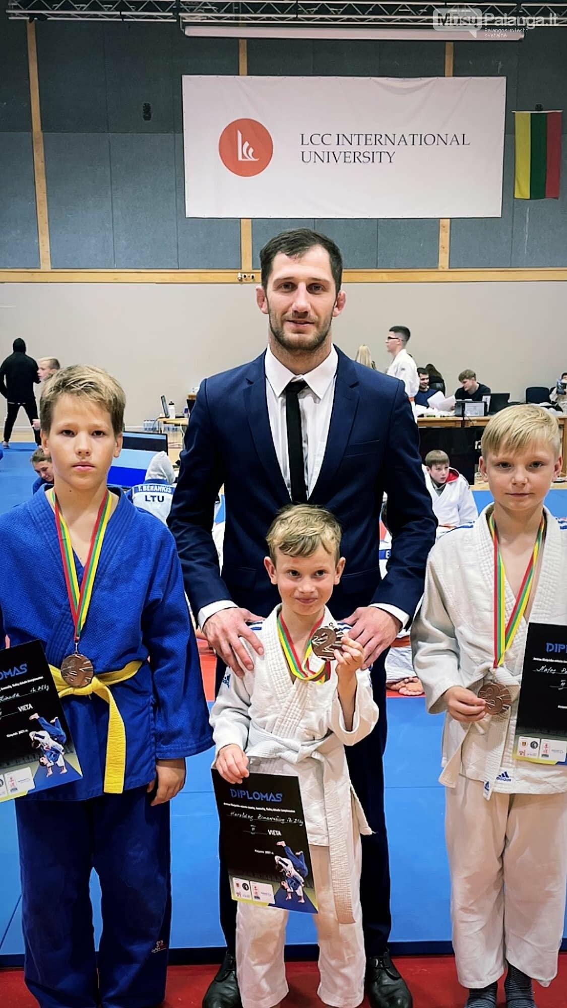 Klaipėdos miesto atvirajame dziudo čempionate – keturi palangiškių medaliai, nuotrauka-1