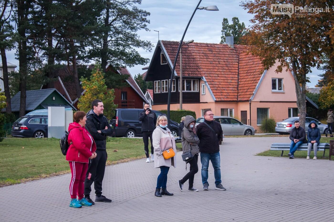 Pirmosios 2021/2022m. sezono namų rungtynės. Palangos Kuršiai - Vilkaviškio Perlas., Mato Miltakio nuotr.