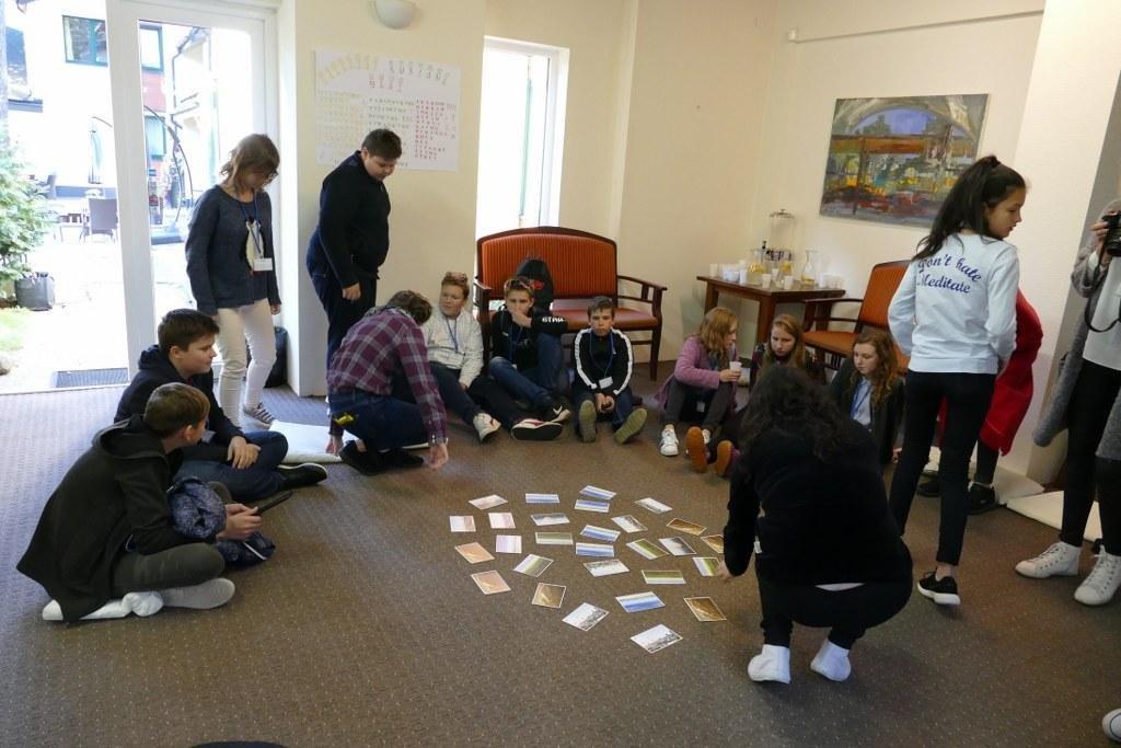 """Projekto """"Sąskrydis"""" dalyviai dalinosi naujomis idėjomis"""