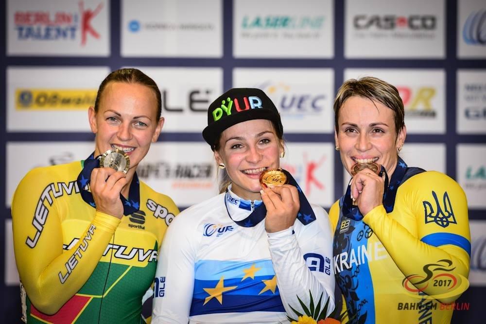 Dviratininkei Simonai Krupeckaitei – Europos čempionato sidabras, nuotrauka-1, Simona Krupeckaitė, sidabras 2017 (Facebook.com nuotr.)