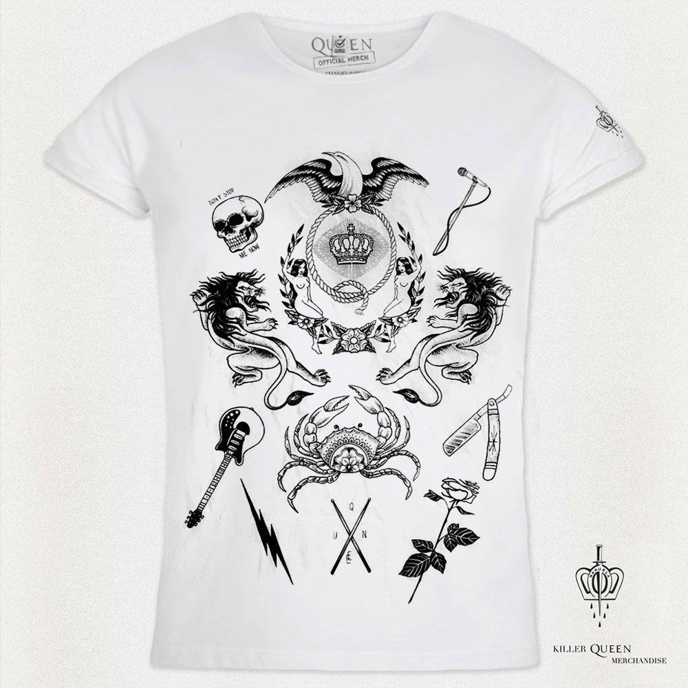 """Grupė """"Queen"""" ir garsi tatuiruočių meistrė pristatė išskirtinio dizaino kolekciją, nuotrauka-10"""