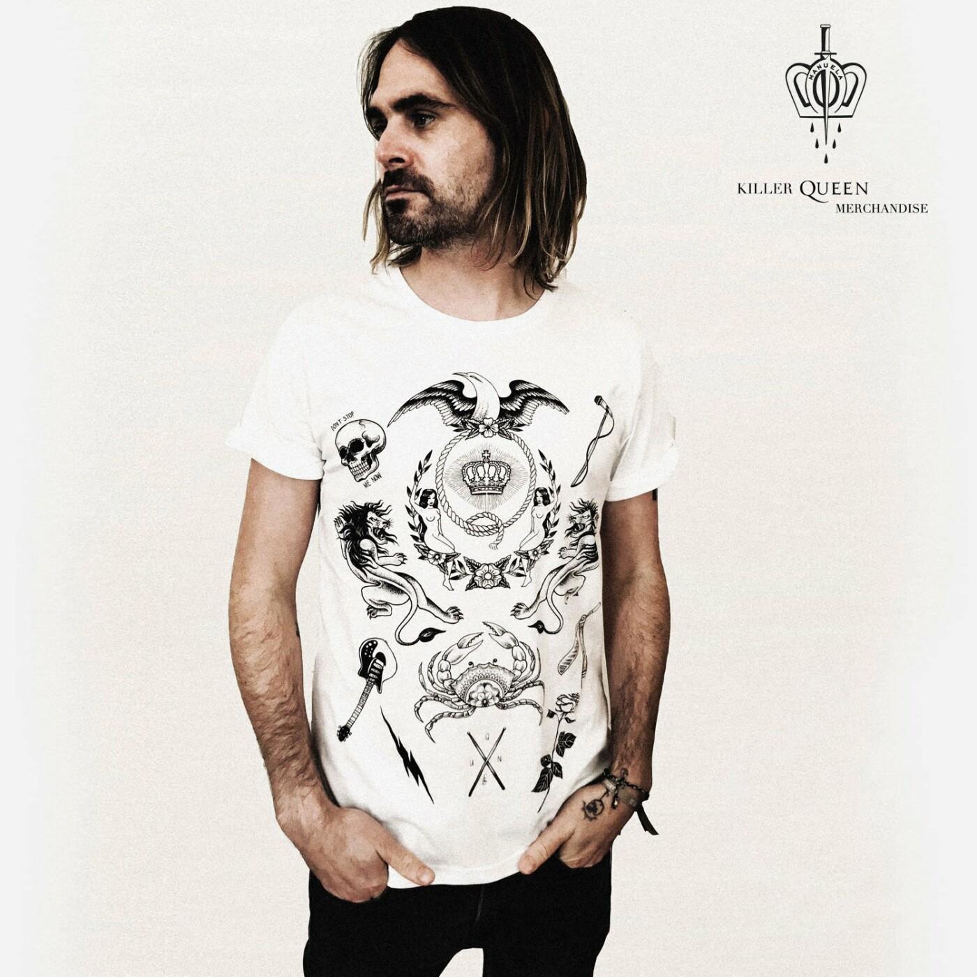 """Grupė """"Queen"""" ir garsi tatuiruočių meistrė pristatė išskirtinio dizaino kolekciją, nuotrauka-16"""