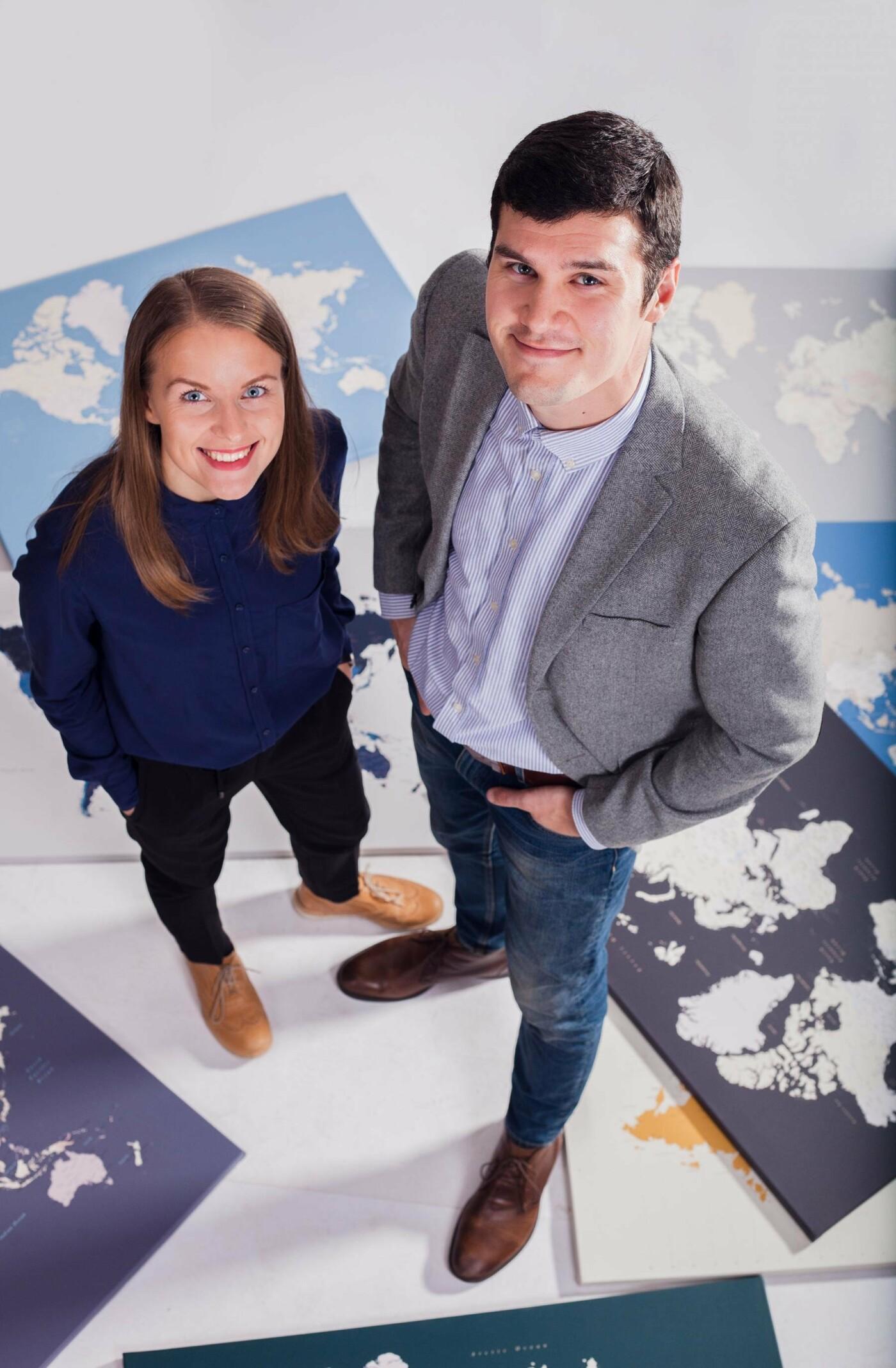 Martos ir Paulius žemėlapiai pavergia kelionių entuziastų širdis, nuotrauka-1