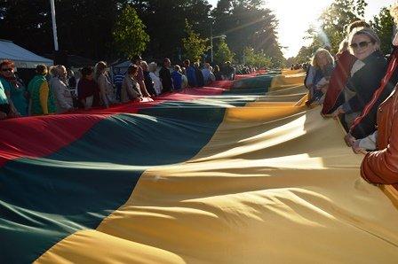 Lietuvos nepriklausomybės atkūrimo dienos minėjimas Palangoje, nuotrauka-1