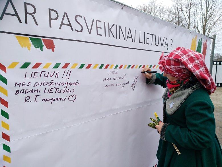 Ar jau pasveikinote Lietuvą? Palanga švenčia Kovo 11 - ąją (nuotraukų albumas), nuotrauka-1