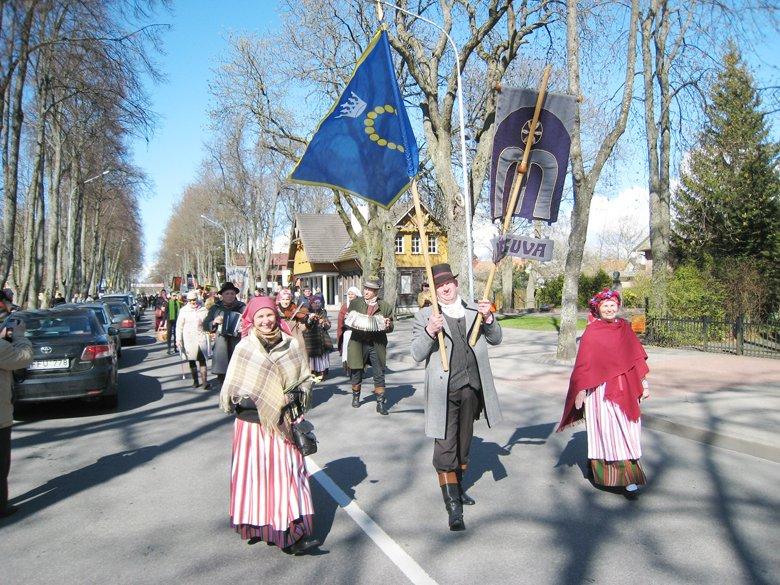 """Trisdešimtmečio sukaktį minintis folkloro ansamblis """"Mėguva"""" kviečia švęsti Jurgines (šventės programa), nuotrauka-1"""
